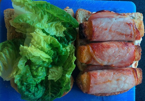 Fish and bacon whirls a cinderella story retro food for Fishing with bacon